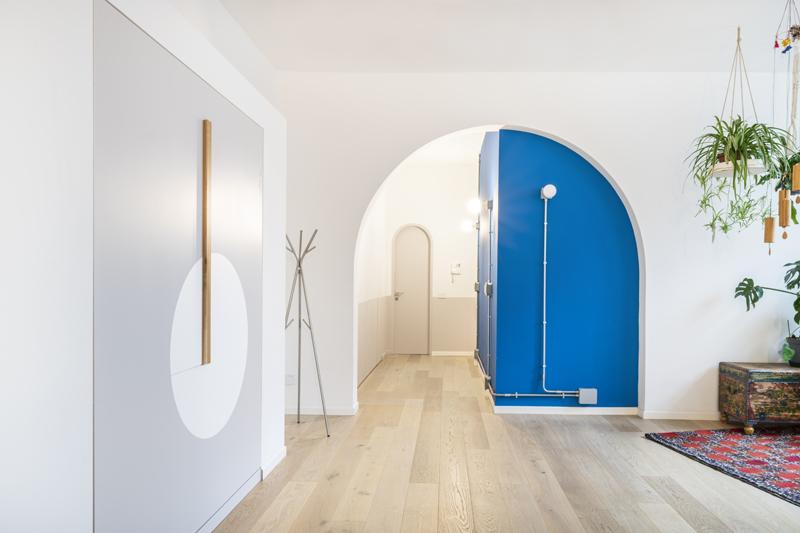 hidden bed letto a scomparsa archo blu blu arch