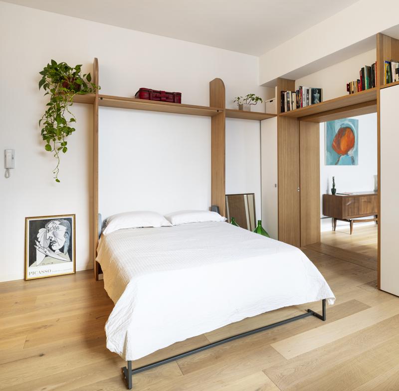 letto nascosto hidden bed