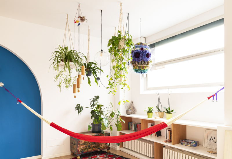 jungle pop furniture style green architecture amaca hammock home