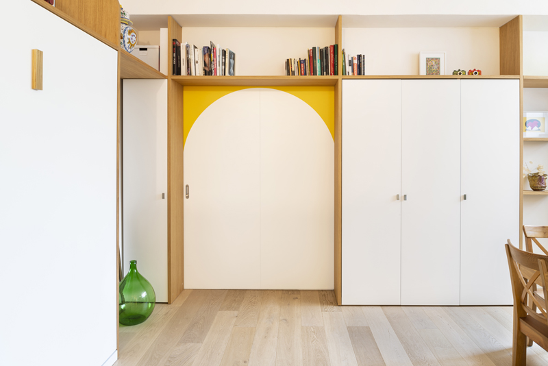 porta colorata colored door